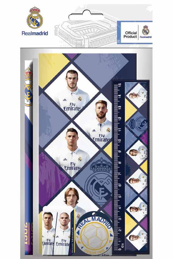 Σχολικό σετ 5 τεμάχια Real Madrid 0170517