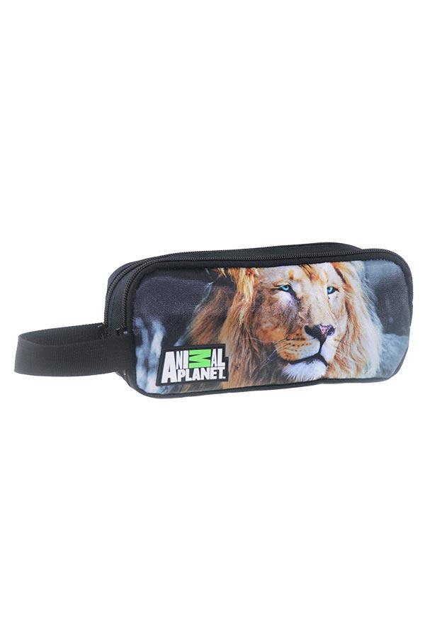 must Κασετίνα σχολική δύο θέσεις Animal Planet λιοντάρι 000570648