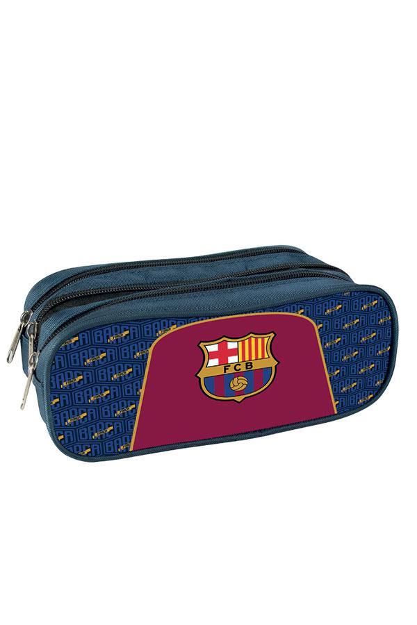 417f7351901 Κασετίνα σχολική τρεις θέσεις FC Barcelona 00170643