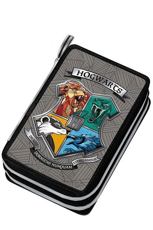 Κασετίνα σχολική γεμάτη Harry Potter Hogwarts Graffiti 214331