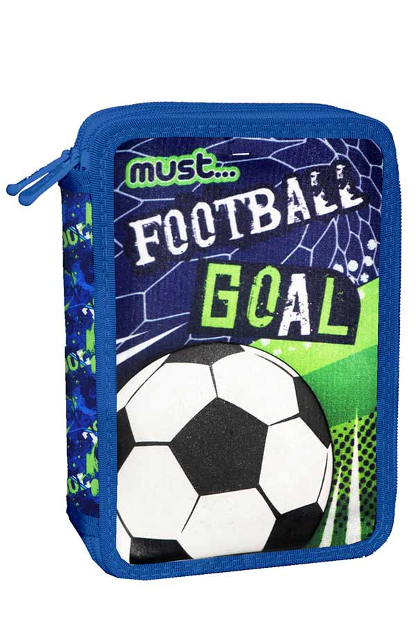 must Κασετίνα σχολική γεμάτη ποδόσφαιρο FOOTBALL GOAL 000584126