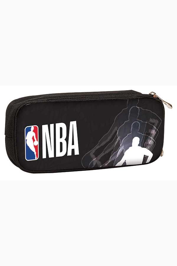 NBA Κασετίνα σχολική οβάλ Street Player Back me up 338-64144