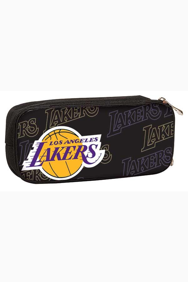 NBA Κασετίνα σχολική οβάλ Los Angeles Lakers Back me up 338-48144