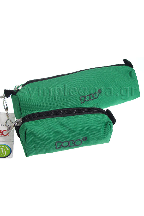Κασετίνα σχολική POLO WALLET πράσινη 937006