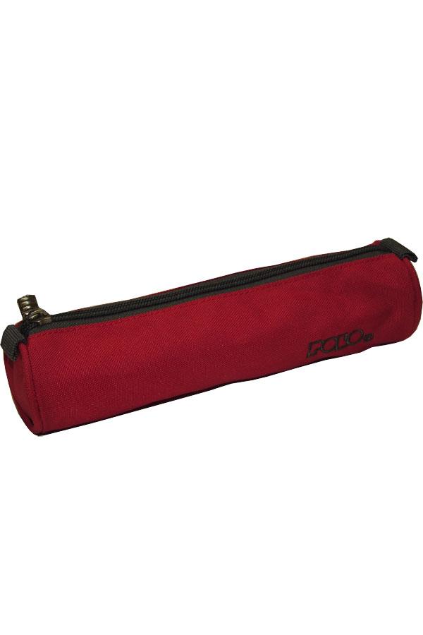 Κασετίνα σχολική POLO ROLL κόκκινη 93700903