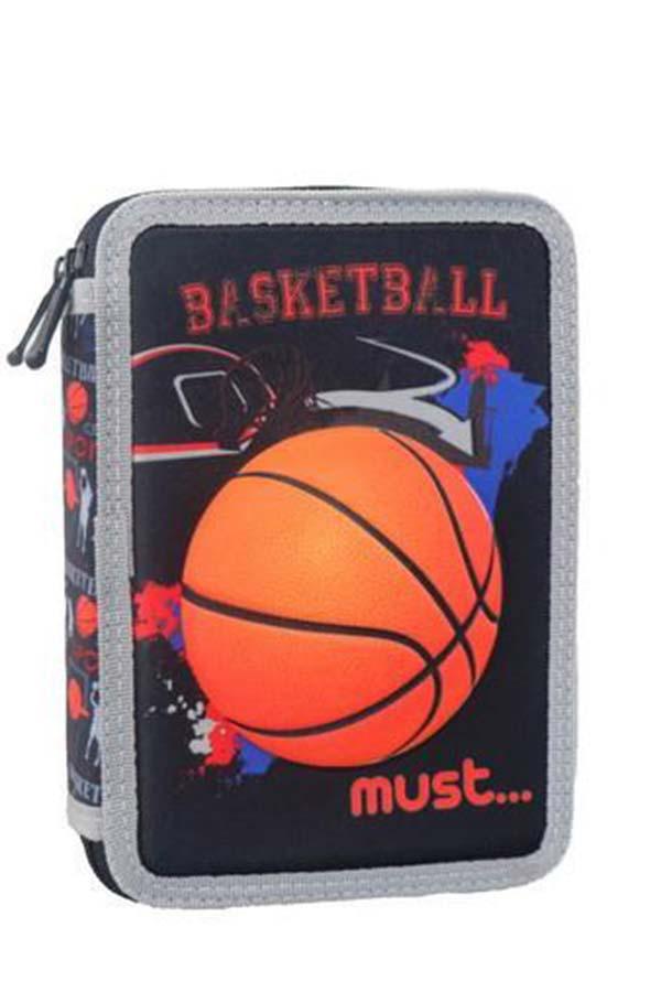 must Κασετίνα σχολική γεμάτη μπάσκετ 000579806