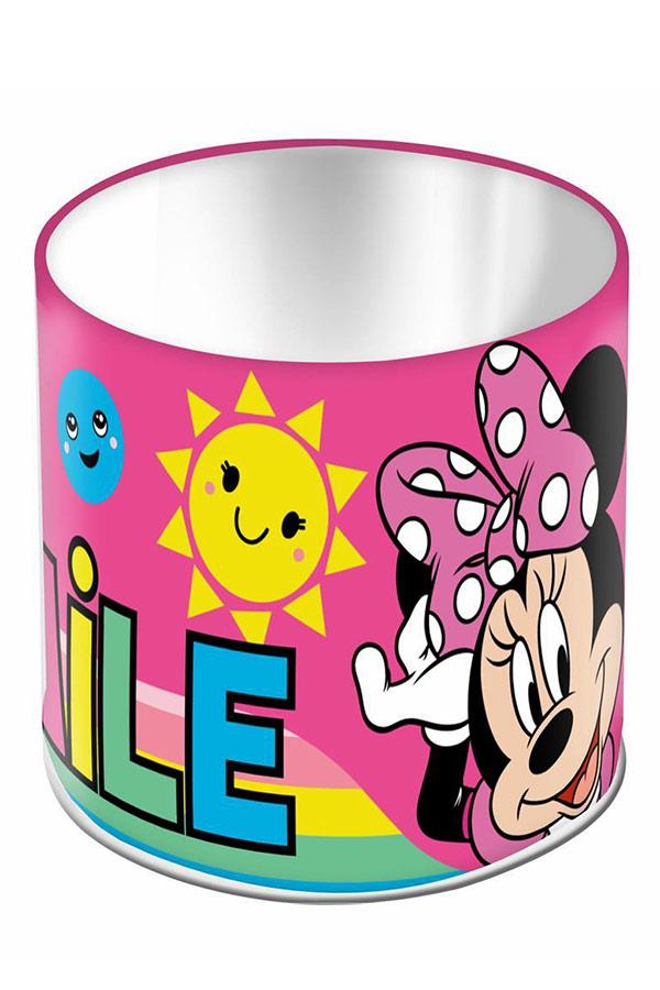 Μολυβοθήκη μεταλλική κυλινδρική Minnie made you smile 000562705