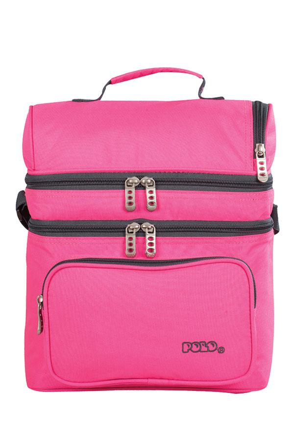 POLO ισοθερμικό τσαντάκι φαγητού DOUBLE COOLER ροζ 90709619