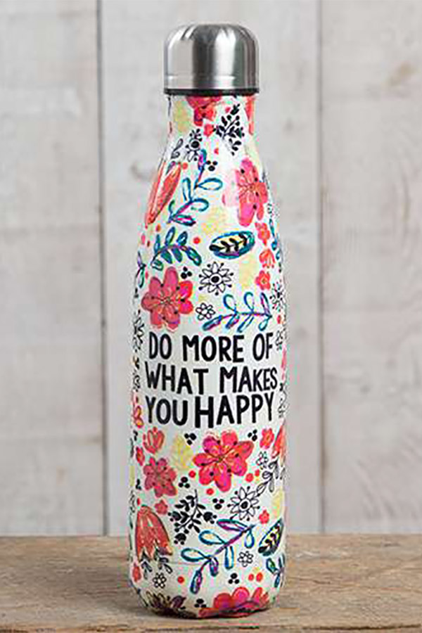 Θερμός ανοξείδωτος 500ml Natural Life - Do more of what makes you happy WB004