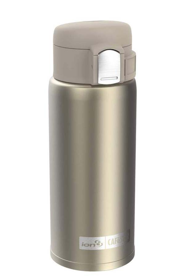 ion8 Παγούρι Θερμός καφέ 360ml χρυσό I8360SCGOL