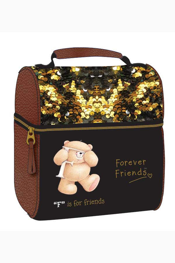 Forever Friends Ισοθερμικό τσαντάκι φαγητού Gold Back me up 333-46221
