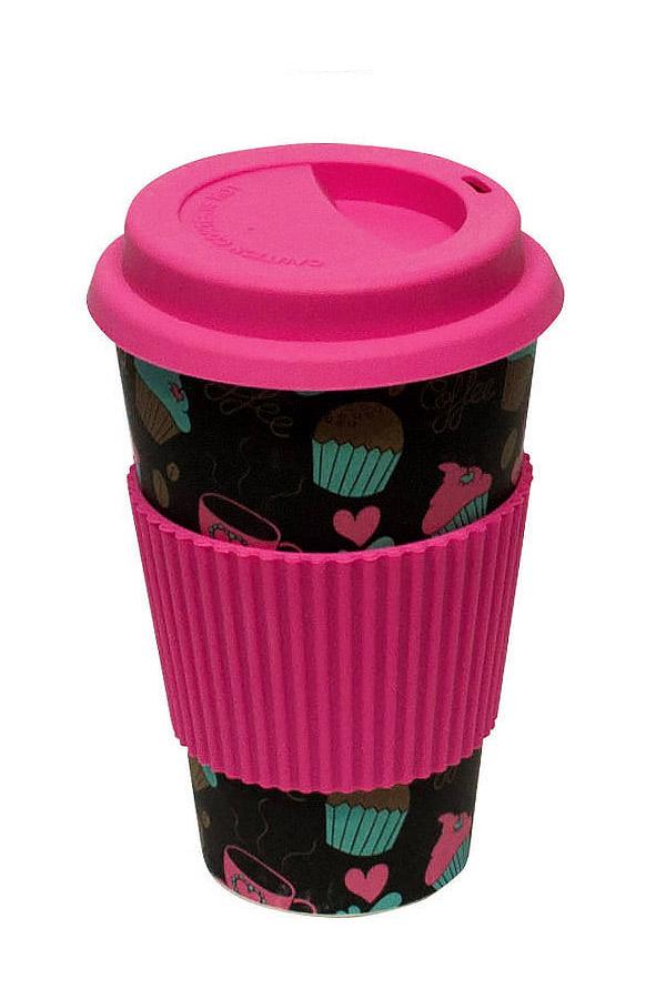 Κούπα μπαμπού 400ml Spadi Cup cakes LK-2014-5