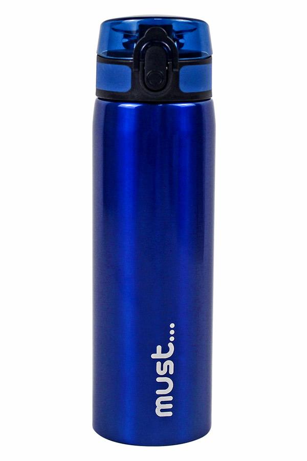 Παγούρι ανοξείδωτο must 600ml μπλε 000584415