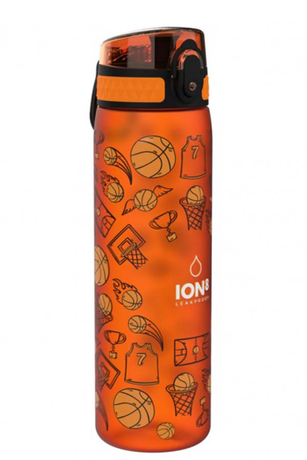 ion8 Παγούρι Slim Kids 500ml Basketball I8500FPOBASK