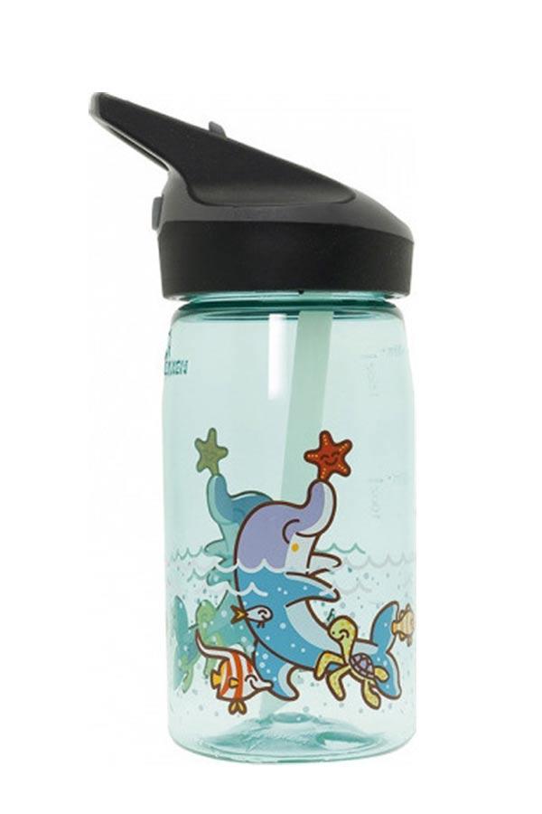 Παγούρι πλαστικό με πιπίλα LAKEN junior 450ml KATUKI TRITAN μπλε YTN4-DA