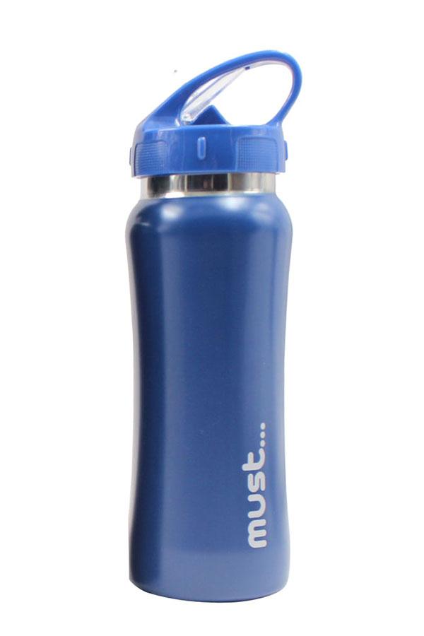 Παγούρι ανοξείδωτο must 500ml μπλε 579847