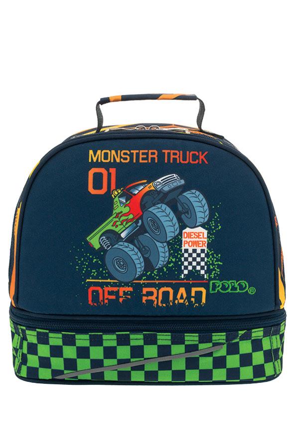 POLO ισοθερμικό τσαντάκι φαγητού KID΄S FUN Monster truck 90703860