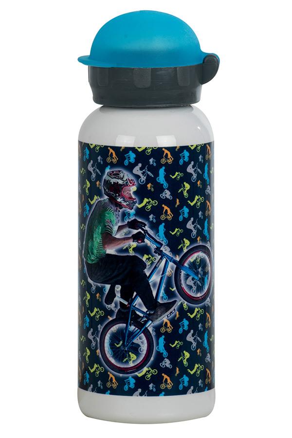 Παγούρι μεταλλικό POLO 450ml Ποδηλάτης 9-48-002