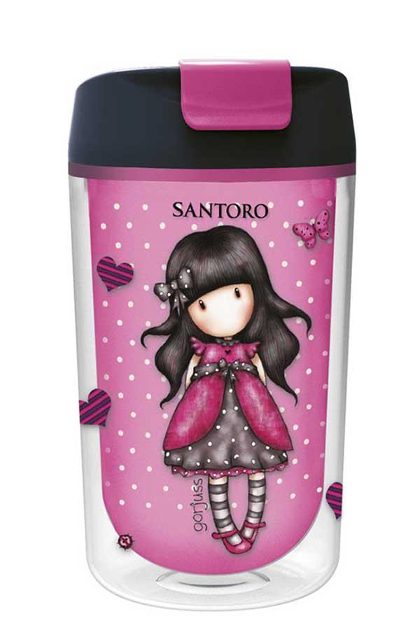 Santoro gorjuss Κούπα πλαστική 370ml Ladybird 01060