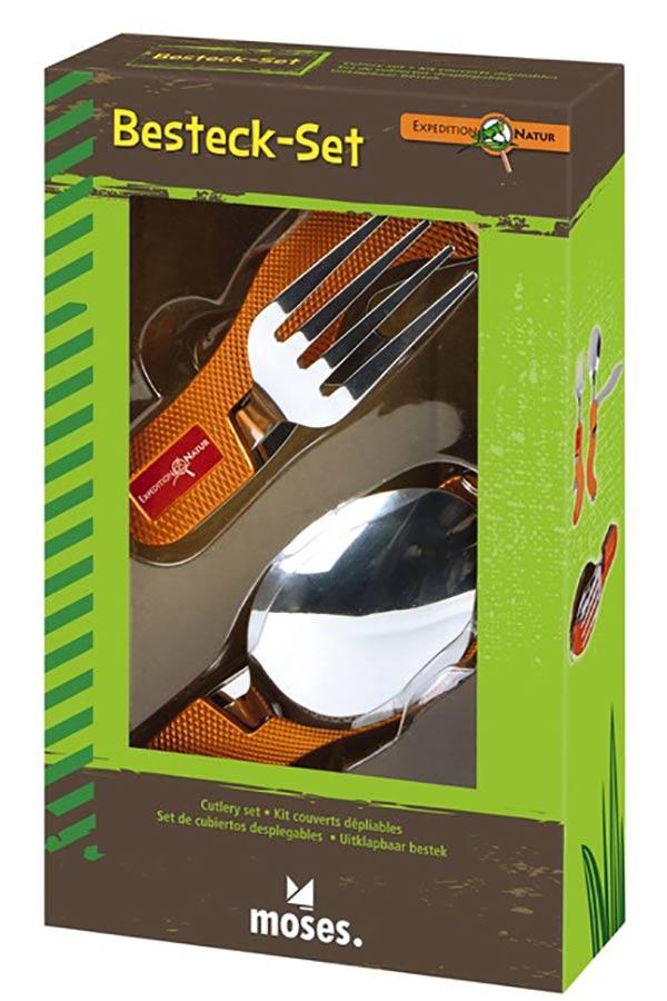 Μαχαιροπίρουνα μεταλλικά αναδιπλούμενα moses 9721