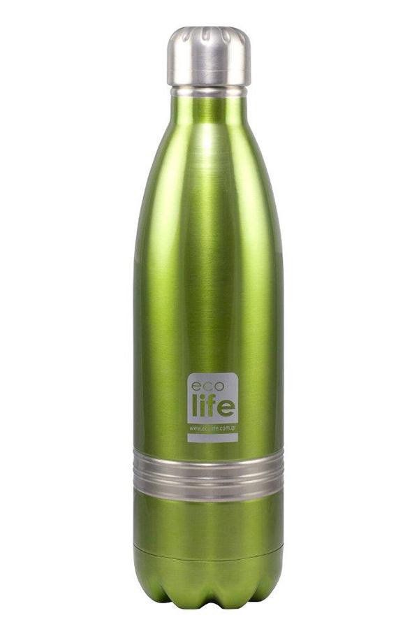 Θερμός Ανοξείδωτος ecolife 750ml green - πράσινος