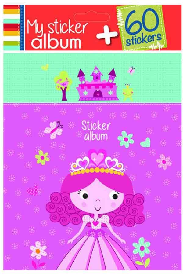 Άλμπουμ για αυτοκόλλητα Πριγκίπισσα 287304