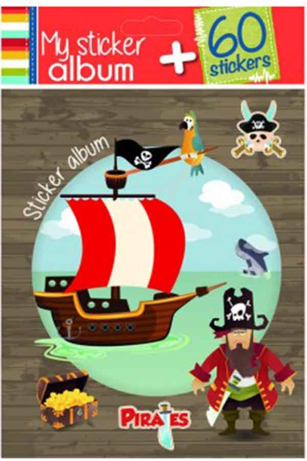 Άλμπουμ για αυτοκόλλητα Πειρατές 287303