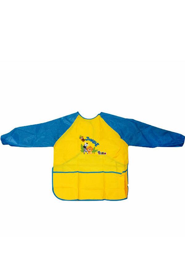 Ποδιά ζωγραφικής παιδική the littlies κίτρινη 0646110