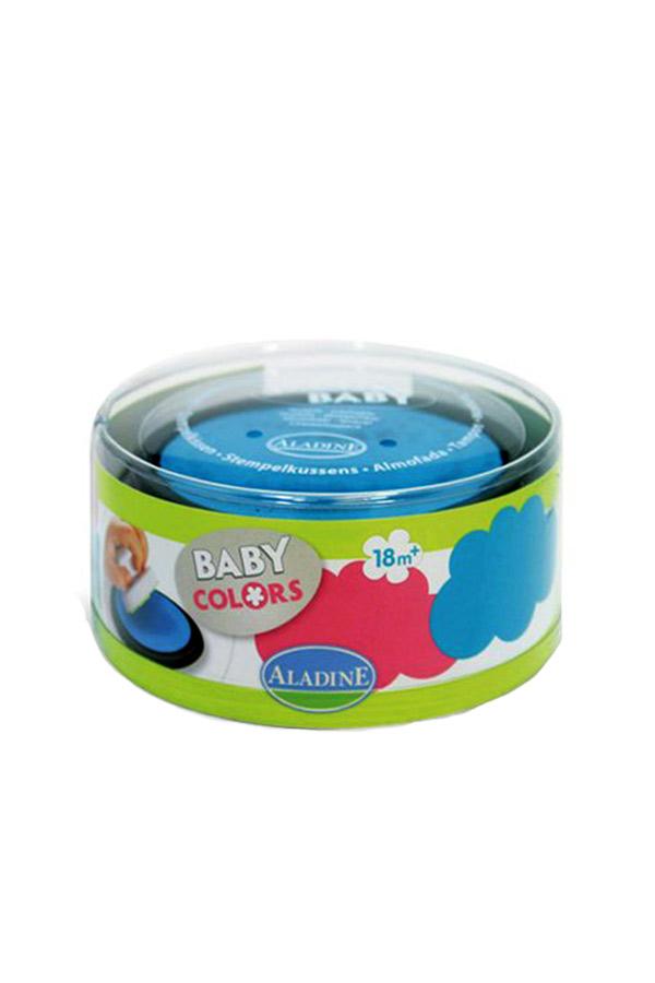 Ταμπόν σετ 2 τμχ σιέλ/ροζ ALADINE Stampobaby Honey 03851