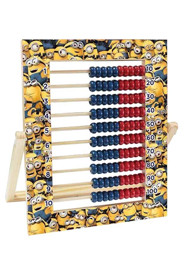 Αριθμητήριο ξύλινο Minions 100 χάντρες 0504206