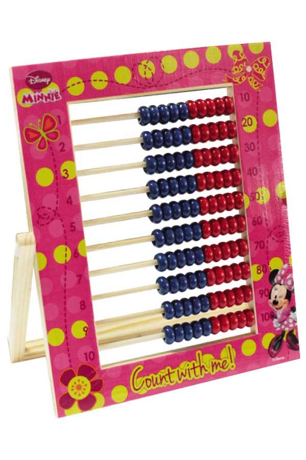 Αριθμητήριο ξύλινο Minnie 100 χάντρες Luna 0560069