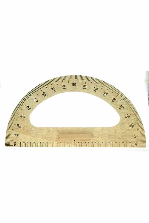 Μοιρογνωμόνιο ξύλινο πίνακος 40cm