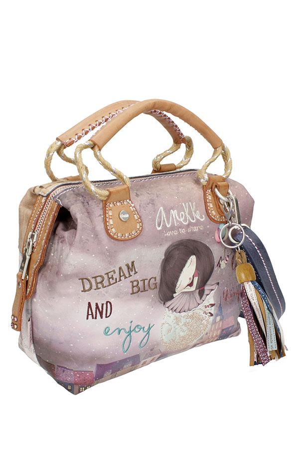 Τσάντα χειρός ώμου Anekke Ballerina μικρή μπλε 24790.7