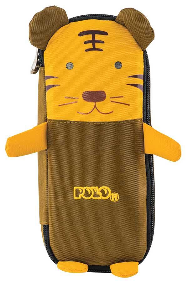 Κασετίνα σχολική POLO ANIMAL τίγρης 93701134