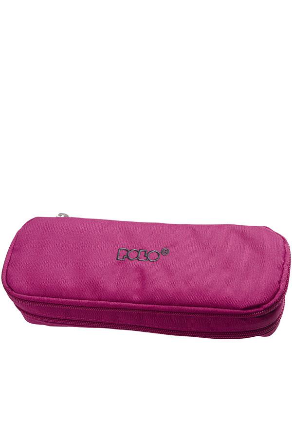 Κασετίνα σχολική διπλή POLO DUO BOX φούξια 937004