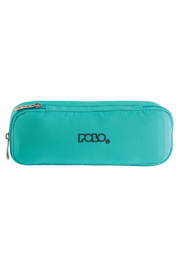 Κασετίνα σχολική διπλή POLO DUO BOX βεραμάν 937004