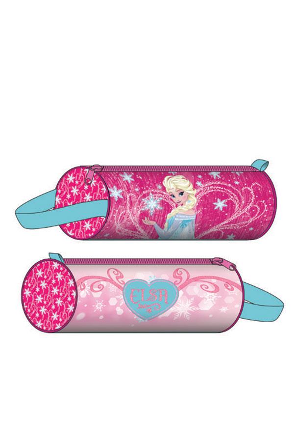 Κασετίνα σχολική στρογγυλή Frozen Elsa 0561064