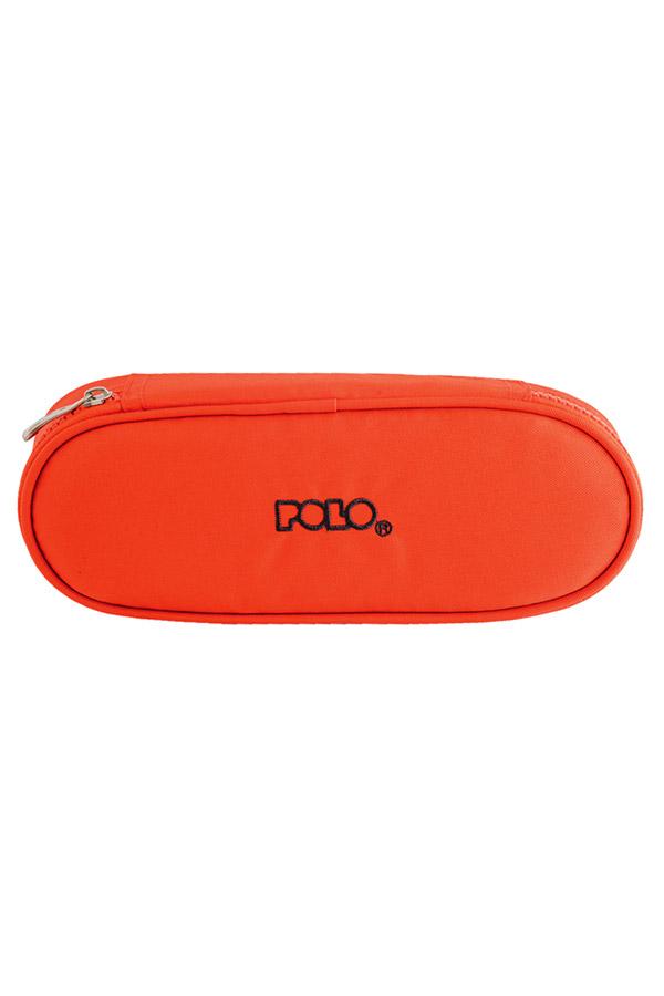 Κασετίνα σχολική POLO BOX πορτοκαλί 937003
