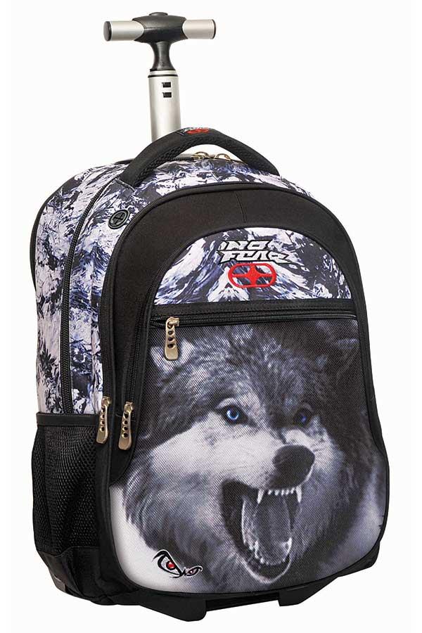 Σχολική τσάντα τρόλεϊ NO FEAR λύκος 34732074