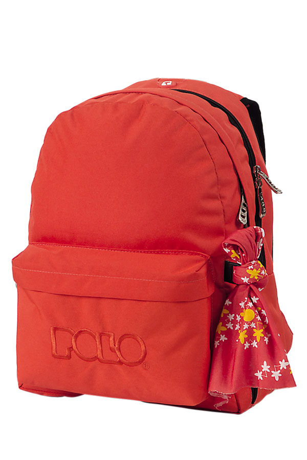 Σακίδιο POLO BACKPACK DOUBLE WITH SCARF πορτοκαλί 90123514