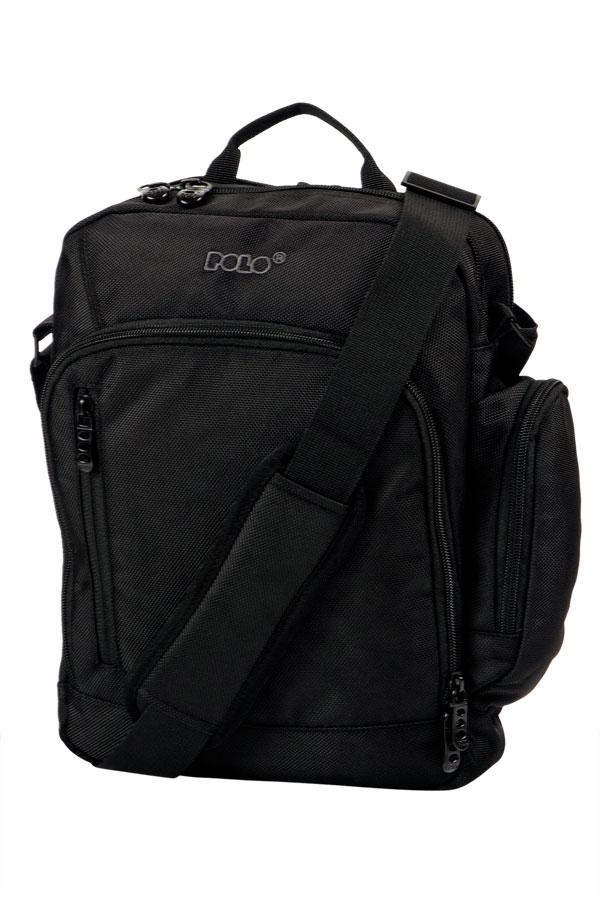 Τσάντα POLO MEETING BAG μαύρο 90700302