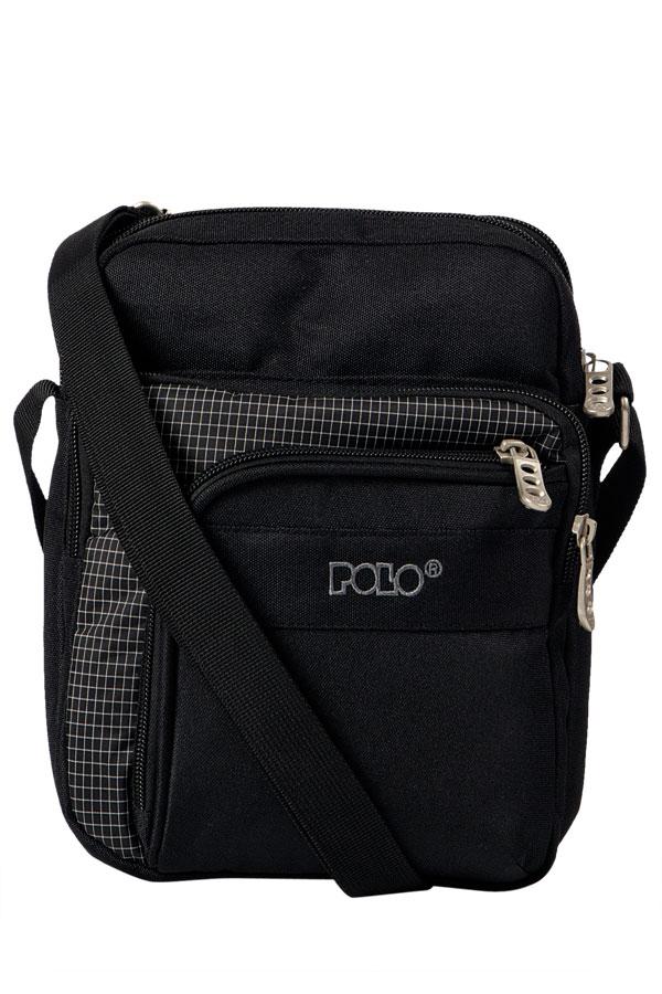 Τσαντάκι ώμου POLO STRIKE BAG LARGE μαύρο 90700802