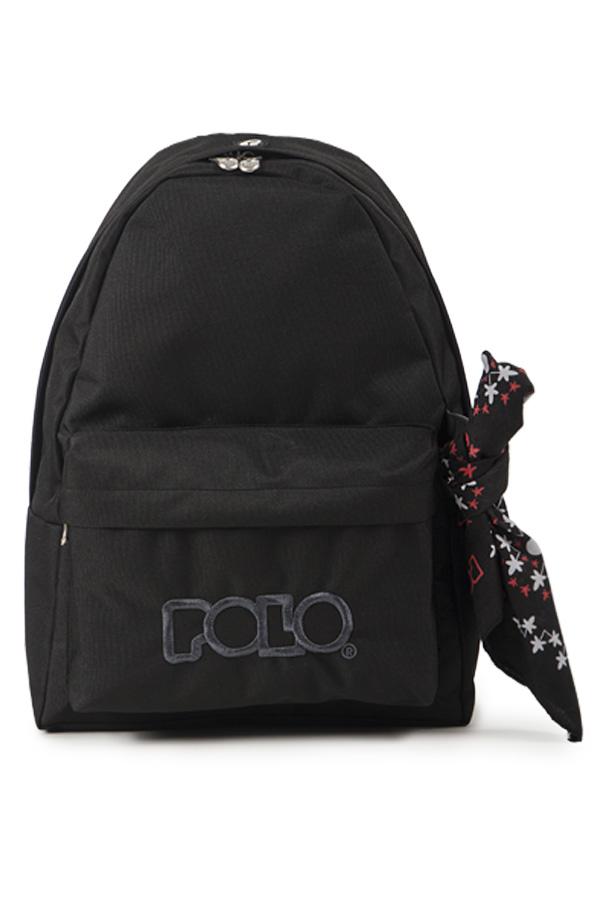 Σακίδιο POLO BACKPACK WITH SCARF μαύρο 90113502