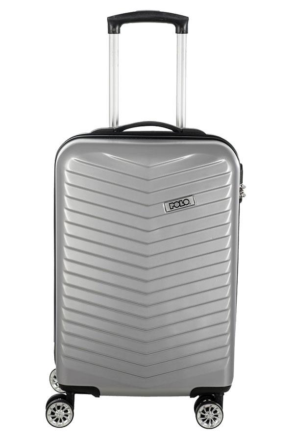 Βαλίτσα ταξιδίου POLO HARD SHELL 36Lt ασημί 90904612