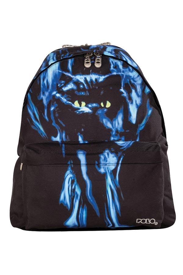 Σακίδιο POLO IDEA μπλε γάτα 90122771