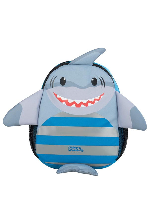 Σακίδιο νηπιαγωγείου POLO BACKPACK ANIMAL JUNIOR καρχαρίας 90101460
