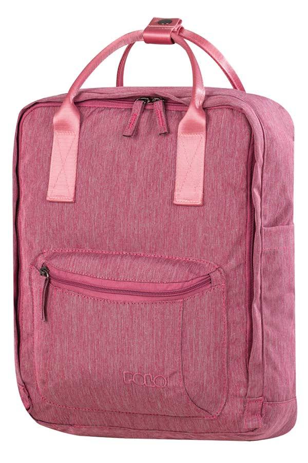 Σακίδιο πλάτης POLO ECLIPSE ροζ 90700116