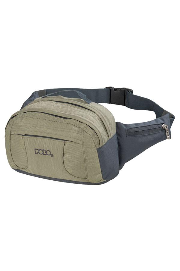 Τσαντάκι μέσης POLO WAIST BAG SUPREME χακί 90800207