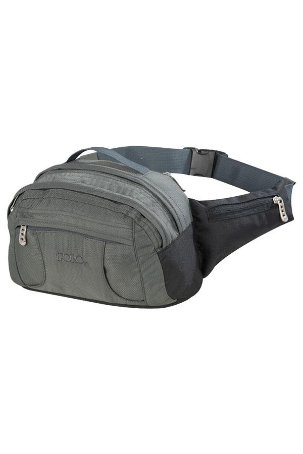 Τσαντάκι μέσης POLO WAIST BAG SUPREME γκρι 90800209