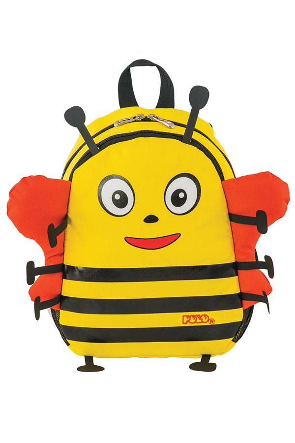 Σακίδιο νηπιαγωγείου POLO BACKPACK ANIMAL JUNIOR μελισσούλα 90101404